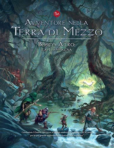 Need Games Avventure nella Terra di Mezzo : Bosco ATRO LA Campagna Espansione Gioco di Ruolo in Italiano