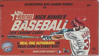 2016 Topps Heritage High Number MLB Baseball HOBBY box (24 pk)