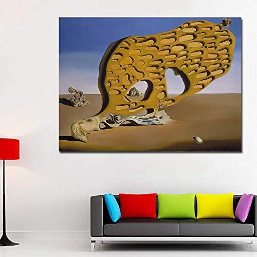 SQSHBBC Salvador Dali El Enigma del Deseo Arte IMPRESIÓN IMPRESIÓN IMPRESIÓN EN Lona Pintura AL Aceite60x80CM SIN Marco