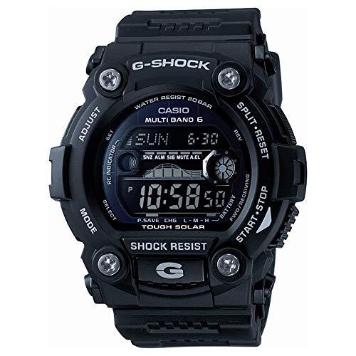 Casio CASIO G-Shock G Shock Reloj de pulsera para hombre, radio solar, onda GW-7900B-1ER, color negro
