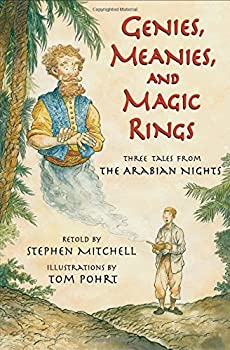 Genies, Meanies, and Magic Rings: Three Tales from the Arabian Nights 0802796397 Book Cover