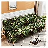 Sofá cama cubierta Universal Armsless Doblado Moderno Asiento...