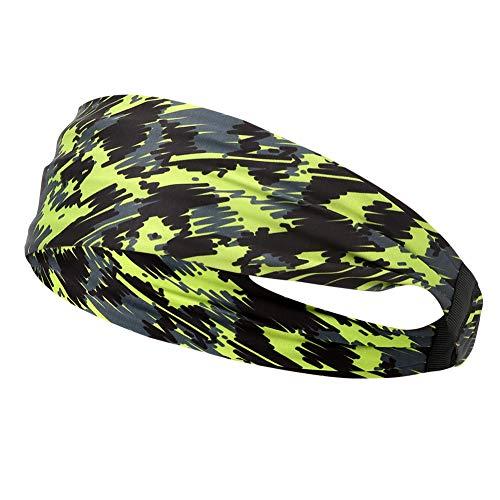 Wash basin-FEI Yoga Sets Anfänger Ausrüstung - Polyurethanfaser Grün Gedruckt Yoga Hair Band Schnelltisch Outdoor Sport Fitness Stirnband Für Laufen Radfahren, Grün - Yoga Zubehör Für Anfänger