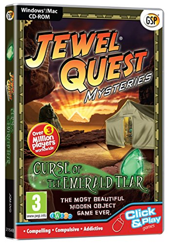 Jewel Quest Mysteries: Curse of the Emerald Tear (PC CD) [Edizione: Regno Unito]