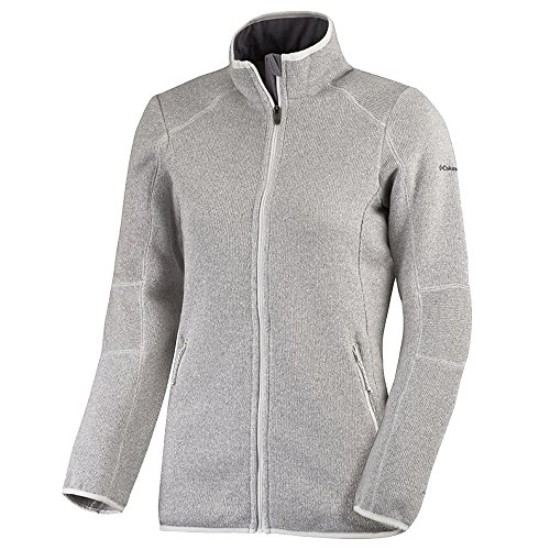 Columbia Altitude Aspect II Sweat Polaire zippé Femme, Sea Salt, FR (Taille Fabricant : XL)