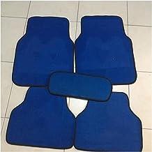 5 stuks automatten stille, antislip slijtvaste matten auto-onderdelen (Color Name : BLUE)