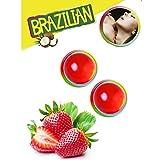 Secret Play 2 Brazilian Balls con Aroma de Frutas Fresa - 1 Pack