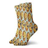 Blueberry Muffin Novelty Crew Socks Classic Leisure Sport Chaussettes courtes 30 cm de long pour homme et femme