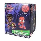 Funko–Mystery Mini Blind Box Color Marvel: Spiderman Animated Color PDQ (CDU 12), multicolor, 3475...
