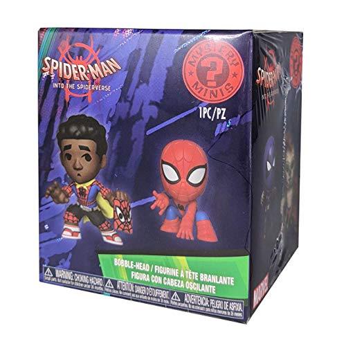Funko- Mystery Mini Blind Box: Marvel: Spider-Man Animated: PDQ (CDU 12), Multicolore, 34757