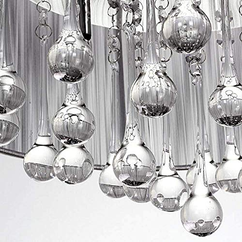 WY-YAN Modern Jane Yue Lasi Fabric Chandeliers Living Room/Bedroom/Dining Home 47 * 20Cm The Good Life Good Light
