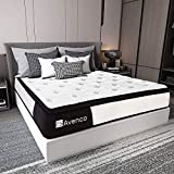 King Mattress, Avenco Hybrid Mattress King, 10 Inch Innerspring and Gel Memory Foam Mattress in a Box King, with CertiPUR-US Foam for Supportive, Pressure Relief & Cooler Sleeping, 10 Years Support