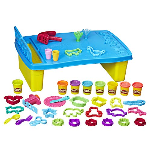 Play-Doh Play 'n Store Table, Arts & Crafts, Activity Table, Ages...