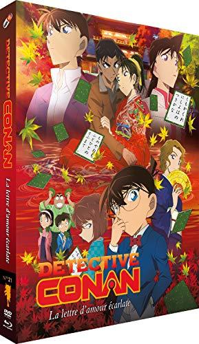 Detective Conan-Film 21 : La Lettre d'amour écarlate [Blu-Ray] + DVD