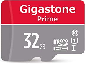 Gigastone 32GB Micro SD Card UHS-I U1 Class 10 MicroSD HC Memory Card with SD Adapter High Speed Memory Card Class 10 UHS-I Full HD Video Nintendo Switch Dashcam GoPro Camera Samsung Canon Nikon Drone