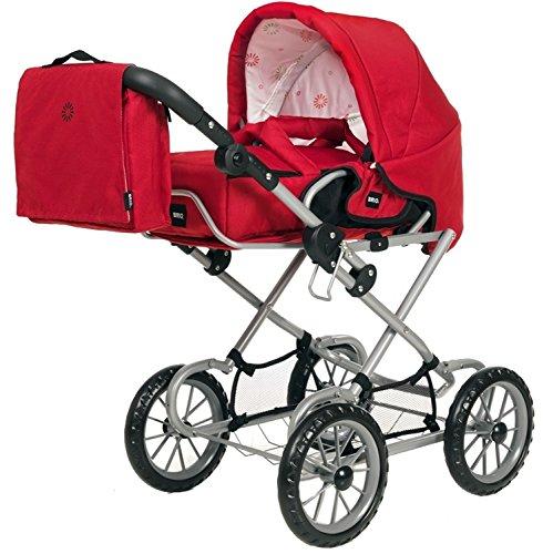 Brio Shiny Footmuff Baby Fu/ßsack Buggy Kinderwagen Sitzwagen Rot