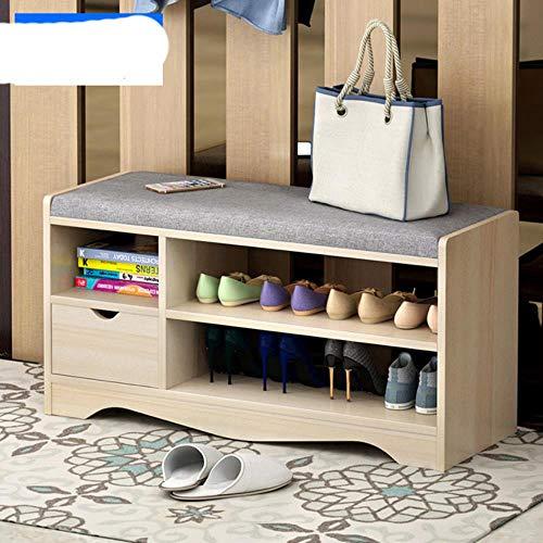 re para los zapatos taburete simple moderno almacenamiento taburete zapatos taburete multifuncional almacenamiento taburete sofá taburete zapatos gabinete taburete-80cm cajón