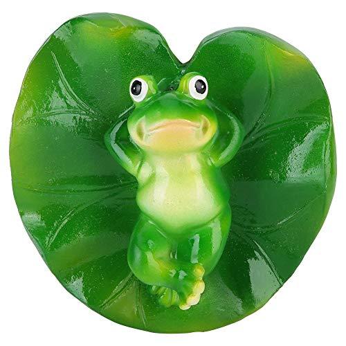 Duokon Realistische Lotus ungiftig schwimmende Wasser Matte künstliche teich Dekorationen frösche grünpflanze badewanne Sommer Schwimmbad schwimmspielzeug
