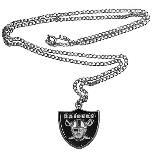 NFL Siskiyou Sports Fan Shop Las Vegas Raiders Chain Necklace 22 inch Team Color