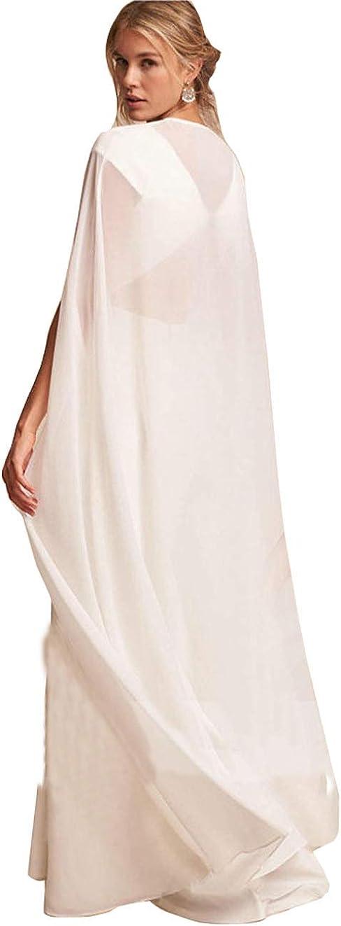 Bridal Wedding Capes Veils Ivroy White Tulle Bridal Wraps Cathedral Length Wedding Cloak