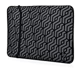 "Foto HP Custodia Sleeve Reversibile in Neoprene per Notebook fino a 15.6"", Nero"
