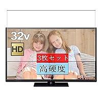 3枚 Sukix フィルム 、 Panasonic パナソニック 32V型 液晶テレビ ビエラ VIERA TH-32D320 向けの 液晶保護フィルム 保護フィルム シート シール(非 ガラスフィルム 強化ガラス ガラス ) 修繕版