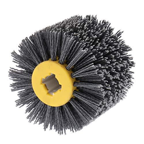 FLAMEER Nylonbürste Schleifbürste für Satiniermaschine, 80-240 Körnung - 80 Körnung