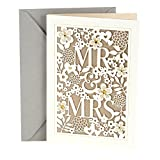 Hallmark Wedding Card (Mr. & Mrs.)