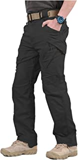Gear Men's Assault Tactical Pants Lightweight Cotton Outdoor Military Combat Cargo Trousers