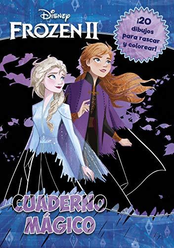 Frozen 2. Cuaderno mágico: 20 dibujos para rascar y colorear (Disney. Frozen)
