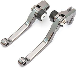 Tencasi Titan CNC Pivot Bremshebel Kupplungshebel Hebel Set kompatibel mit 250 XCF W/XC W 14 17, 250 SX/SX F/XC/XC F 2014 2019