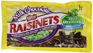 Nestle Milk Chocolate Raisinets 44.7 g (Pack of 8) (B0087C6FBQ) | Amazon price tracker / tracking, Amazon price history charts, Amazon price watches, Amazon price drop alerts