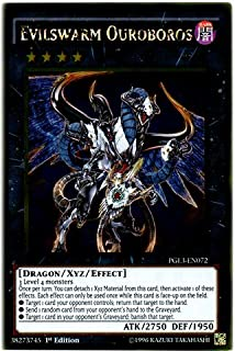 Yu-Gi-Oh! - Evilswarm Ouroboros (PGL3-EN072) - Premium Gold: Infinite Gold - 1st Edition - Gold Rare