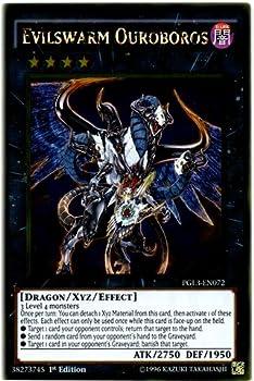 Yu-Gi-Oh! - Evilswarm Ouroboros  PGL3-EN072  - Premium Gold  Infinite Gold - 1st Edition - Gold Rare
