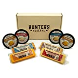 Cheese Bar and Cheese Spread Gift Box Sampler 8 pack with Assorted Cheeses