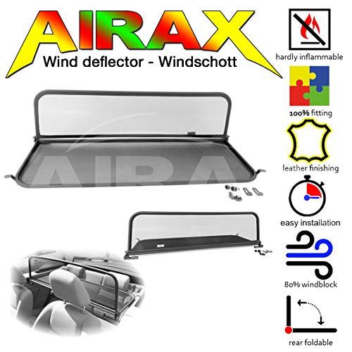 Airax Windschott Für Mustang V 5 Windabweiser Windscherm Windstop Wind Deflector Déflecteur De Vent