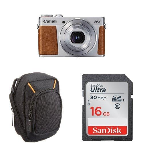 Canon Pack G9X MK II + Sac + Carte SD 16 Go