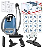 Miele Complete C2 Hard Floor Canister HEPA Vacuum Cleaner Bundle - Includes Miele Performance Pack...