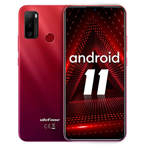Smartphone ohne vertrag, Ulefone Note 10 Android 11 Handy 6,52