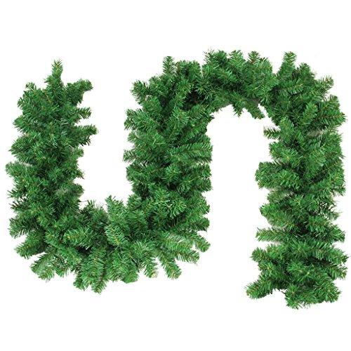 décoration de Noël Rotin De Noël - Guirlande De Pendentif Guirlande De Noël Guirlande De Noël 3 Couleurs Disponibles, Longueur 2,7 M / 8,8 Pieds (Couleur : D-2 string)
