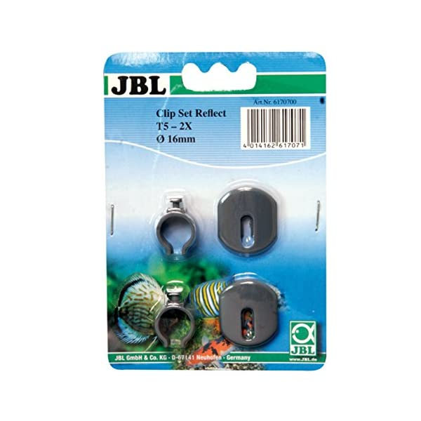 JBL Halterung für Leuchtstoffröhren, 2 Stück, Clip Set Reflect