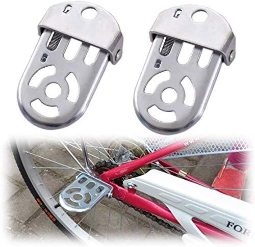 Alouweekuky Cojín trasero para bicicletas - Asiento trasero para bicicletas Asiento trasero Silla de seguridad para niños Pedales de seguridad bicicleta (pedal)