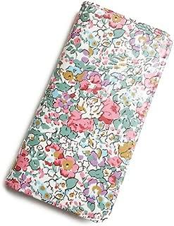 iPhone XRケース 手帳型 リバティ クレアオード (ピンク) SHOKO MIYAMOTO おしゃれ かわいい マグネット無しでカード安全 スマホケース アイフォンケース Liberty…