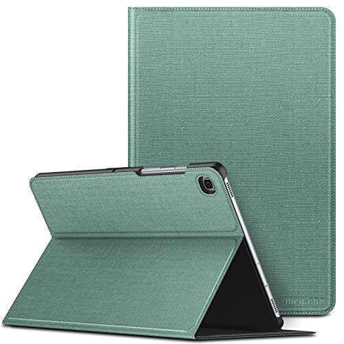 INFILAND Case for Samsung Galaxy Tab S5e, Multi Angles Viewing Front Support Case compatible with Samsung Galaxy Tab S5e 10.5 inch (T720/T725/T727) 2019 Tablet,Auto Sleep/Wake,Mint Green