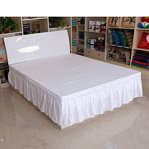 Hllhpc Elastische band bed schort strak minimalistische geplooide bedrok