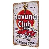 HONGXIN Havana Club Schild Vintage Metall Poster