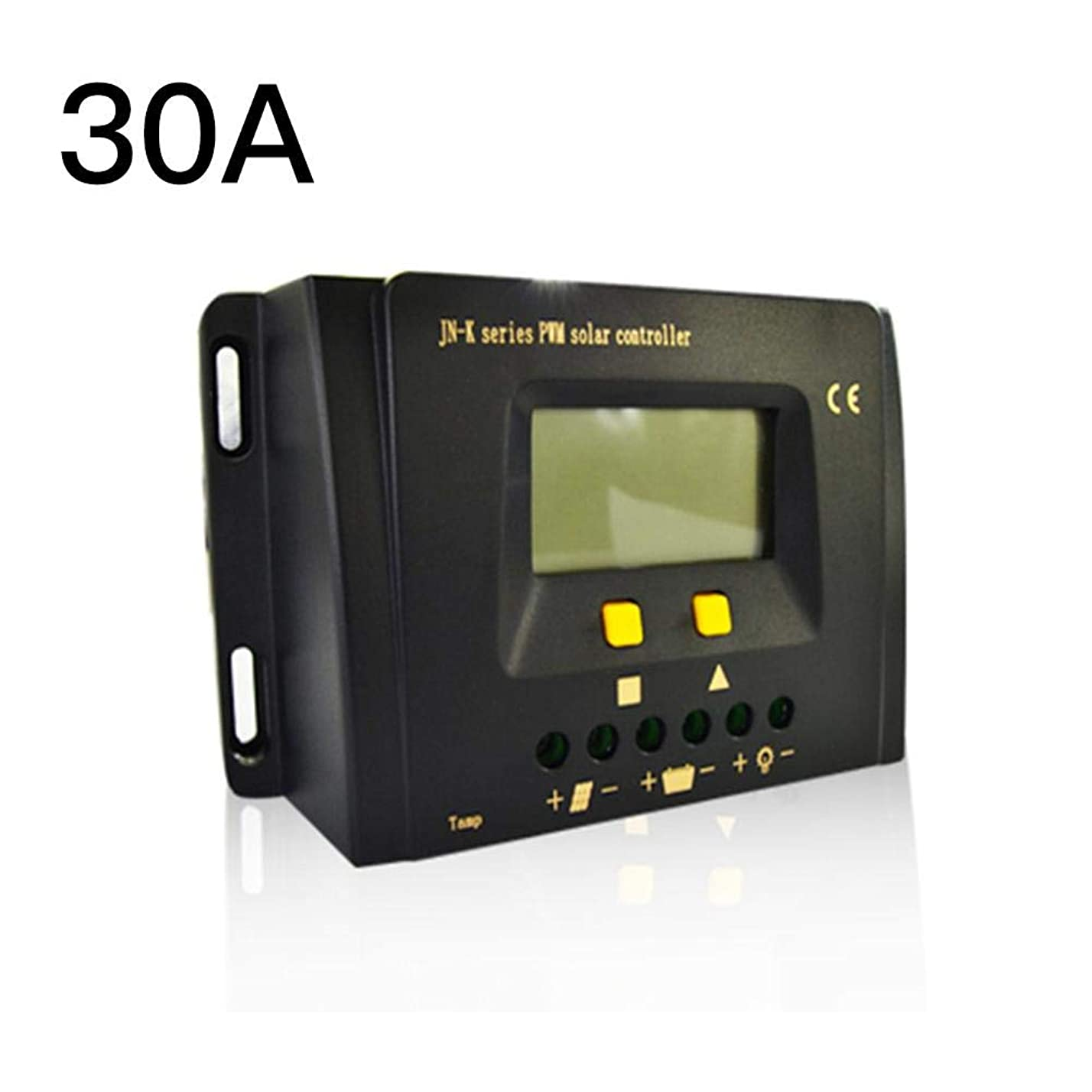 関連付ける二次平手打ちソーラー充電コントローラー、12v / 24v / 48vソーラー充電コントローラー充電レギュレータインテリジェント、ディスプレイ過負荷保護温度補償