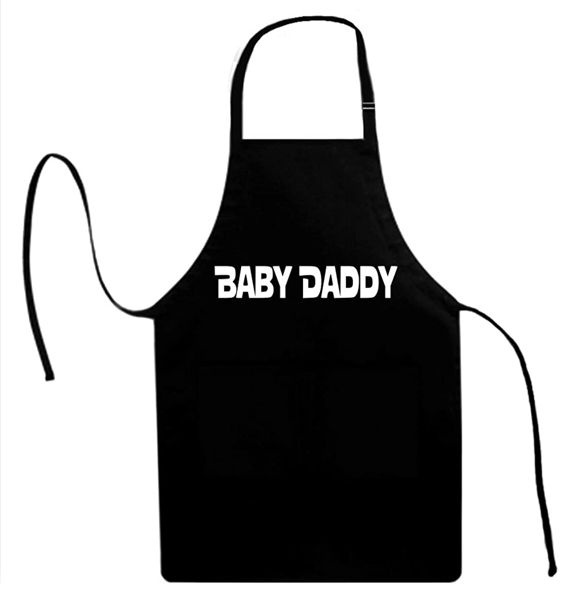 Signature Depot Baby Daddy Funny Unisex Adult Novelty Apron for Men & Women