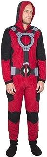 Deadpool One Piece Pajama Union Suit (Adult Large)