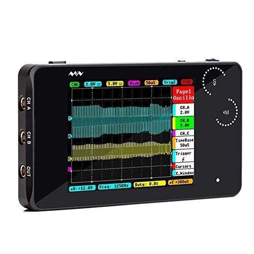 KKmoon DSO PRO Mini Oszilloskop Digitales Handheld  5 M  20 MS//s Tastkopf P6100